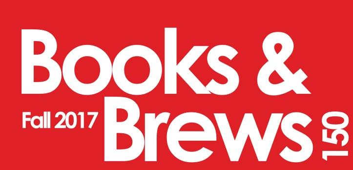 Books and Brews Fall 2017 Logo