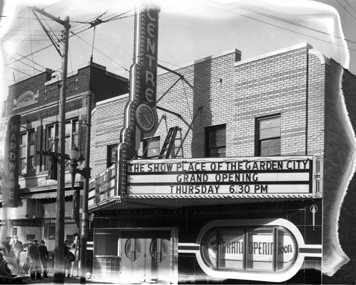 Centre Theatre just before it's grand opening, 1940. Do you remember catching a show here?. (St. Catharines Museum, S1940.4.4.1).