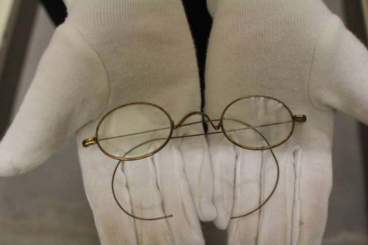 These spectacles have a story. Can you tell just by looking at them? STCM 2007.20.23.
