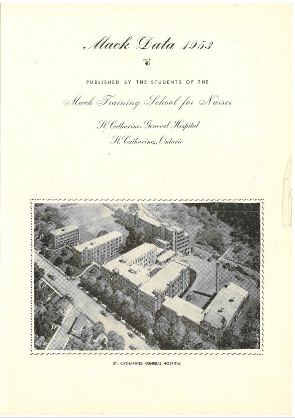 Mack Data, yearbook, 1953